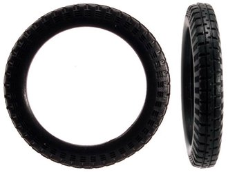 1:43 Truck Tires (16) - Vintage / Narrow (3mm x 22mm)