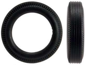 1:43 Truck Tires (12) - Small (5mm x 21mm)