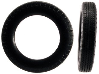1:43 Truck Tires (12) - Large (5mm x 26mm)