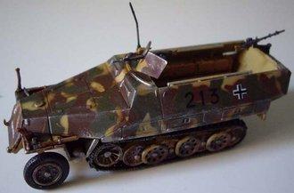 """Sd.Kfz.251/1 Ausf.D Schuetzenpanzerwagen - 12th SS-Panzer Division """"Hitlerjugend,"""" France, 1944"""