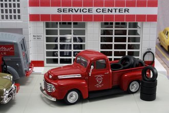 "1948 Ford F1 Pickup ""Western Auto"" w/Tire Load"