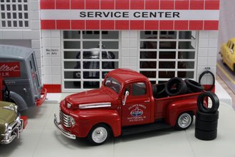 "1948 Ford F1 Pickup ""Amoco"" w/Tire Load"