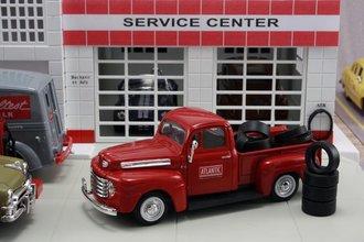 """1948 Ford F1 Pickup """"Atlantic"""" w/Tire Load"""
