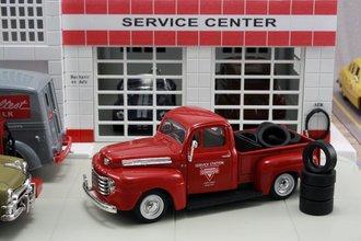 """1948 Ford F1 Pickup """"Conoco"""" w/Tire Load"""