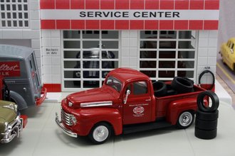 "1948 Ford F1 Pickup ""Sohio"" w/Tire Load"