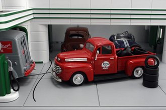 "1948 Ford F1 Pickup ""Tydol Flying A"" w/Tire Load"