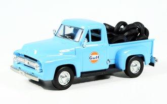"""1953 Ford F-100 Pickup """"Gulf Oil"""" w/Tire Load"""