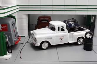 "1955 Chevy Pickup ""Sinclair"" w/Tire Load"