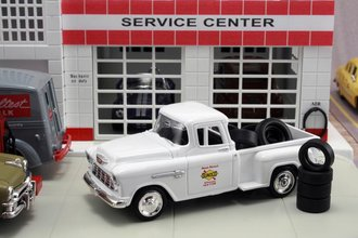 "1955 Chevy Pickup ""Sunoco"" w/Tire Load"