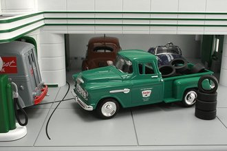 """1955 Chevy Pickup """"Sinclair"""" w/Tire Load"""