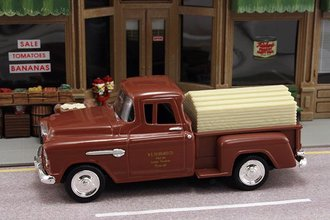 "1955 Chevy Pickup ""Hubbard Co. Lumber & Hardware"" w/Lumber Load"