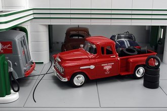"1955 Chevy Pickup ""Conoco"" w/Tire Load"