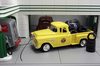 """1955 Chevy Pickup """"Signal"""" w/Tire Load"""