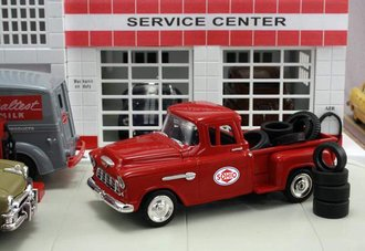 "1955 Chevy Pickup ""Sohio"" w/Tire Load"