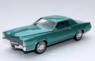 1:24 1968 Cadillac Fleetwood Eldorado (Silverpine Green)