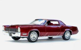 "1:24 1968 Cadillac Fleetwood Eldorado (San Mateo Red) ""Tribute Edition"""