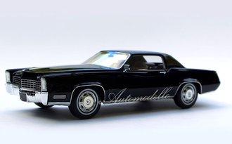 """1:24 1968 Cadillac Fleetwood Eldorado (Sable Black) """"Homage Edition"""""""