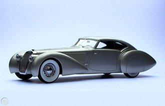 1:24 1937 Delage D8-120S Aerodynamic (Silver)