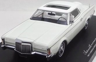 1970 Lincoln Continental Mark III - Lincoln Motor Cars 100th Anniversary (Triple White)