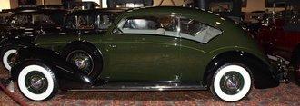 1:43 1938 Lincoln V12 Judkins (Dark Green/Black)