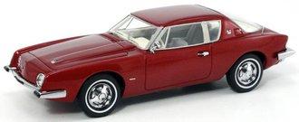 1963 Studebaker Avanti Supercharged (Avanti Red)