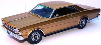 1966 Ford Galaxie Hardtop 7-Liter Hardtop Enthusiast Edition (Antique Gold/Black Interior)