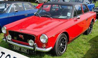 1969-1973 Gilbern Invader RHD (Red)
