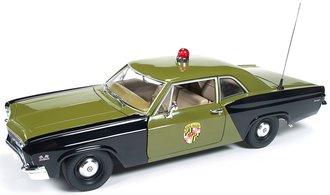 """1966Chevrolet Biscayne """"Maryland State Police"""" (Black/Olive Drab)"""