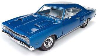 1:18 1969 Dodge Coronet R/T Hardtop (50th Anniversary) (B5 Blue)