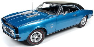 1:18 1967 Camaro Hardtop SS (50th Anniversary) (Marina Blue)