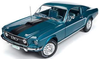"1:18 1968 Ford Mustang 2+2 ""Class of 68"" (50th Anniversary) (Gulfstream Aqua)"