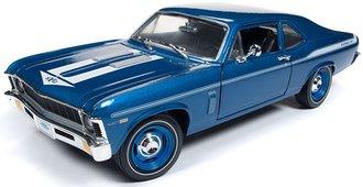 1:18 1969 Chevy Nova Yenko Coupe (LeMans Blue)