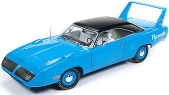 "1:18 1970 Plymouth Superbird Hardtop ""50th Anniversary"" (Petty Blue)"