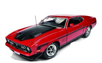 "1:18 1971 Ford Mustang Mach 1 ""Hemmings Muscle Machines"" (Code 3 Bright Red)"