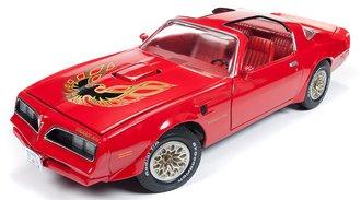 1:18 1977 Pontiac Trans Am (Buccaneer Red)