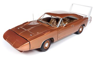 "1:18 1969 Dodge Daytona Charger ""MCACN"" (Bronze Metallic)"