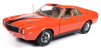 "1:18 1969 AMC AMX Hardtop ""Hemmings Muscle Machines"" (Big Bad Orange)"