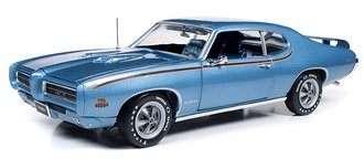 "1:18 1969 Pontiac GTO Judge ""MCACN"" (Warwick Blue)"