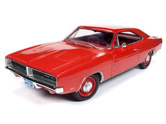 "1:18 1969 Dodge Charger R/T ""Class of 1969"" (Charger Red)"