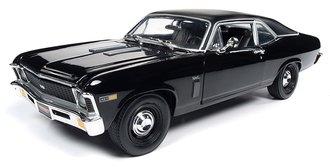 "1:18 1969 Chevrolet Yenko Nova ""Class of 1969"" ""MCACN"" (Gloss Black w/Flat Black Roof)"