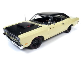 "1969½ Plymouth Road Runner Coupe ""Class of 1969"" (Sunfire Yellow w/X9 Black Painted Roof)"