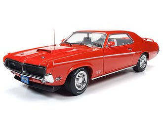 "1:18 1969 Mercury Cougar Hardtop ""50 Anniversary of the Boss Fords"" (Competition Orange)"