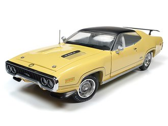 "1:18 1971 Plymouth GTX Hardtop ""MCACN"" (Lemon Twist)"