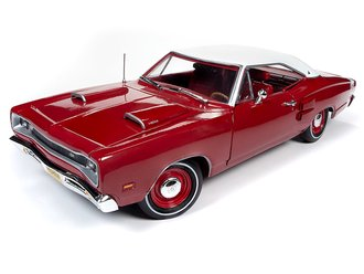 "1:18 1969 Dodge Super Bee Hardtop ""Class of 69"" (R6 Red)"