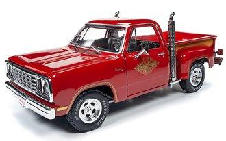 "1:18 1978 Dodge Pickup Truck ""Li'l Red Express"" (Hemmings Muscle Machines) (Red)"