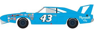 "1:18 1970 Plymouth Superbird ""Richard Petty #43"" ""MCACN"" (Petty Blue)"
