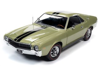 "1968 AMC AMX Hardtop ""MCACN"" (Light Green Metallic)"