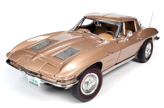 1963 Chevy Corvette Sting Ray Coupe (Saddle Tan Poly)