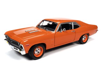 1970 Chevy Nova SS 396 (Hugger Orange)