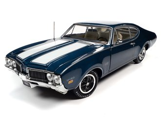 "1969 Oldsmobile Cutlass 442 2-Door Coupe LE ""MCACN"" (Trophy Blue)"